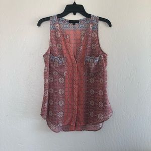 Sanctuary sleeveless blouse, size - Medium